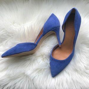 💙 J.CREW Lucie suede pumps size 8 💙